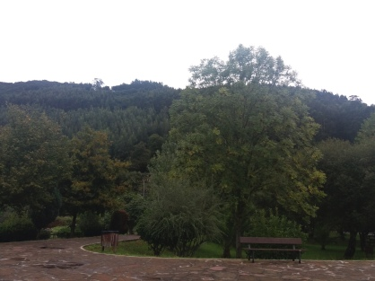 Inside the park in Limpias
